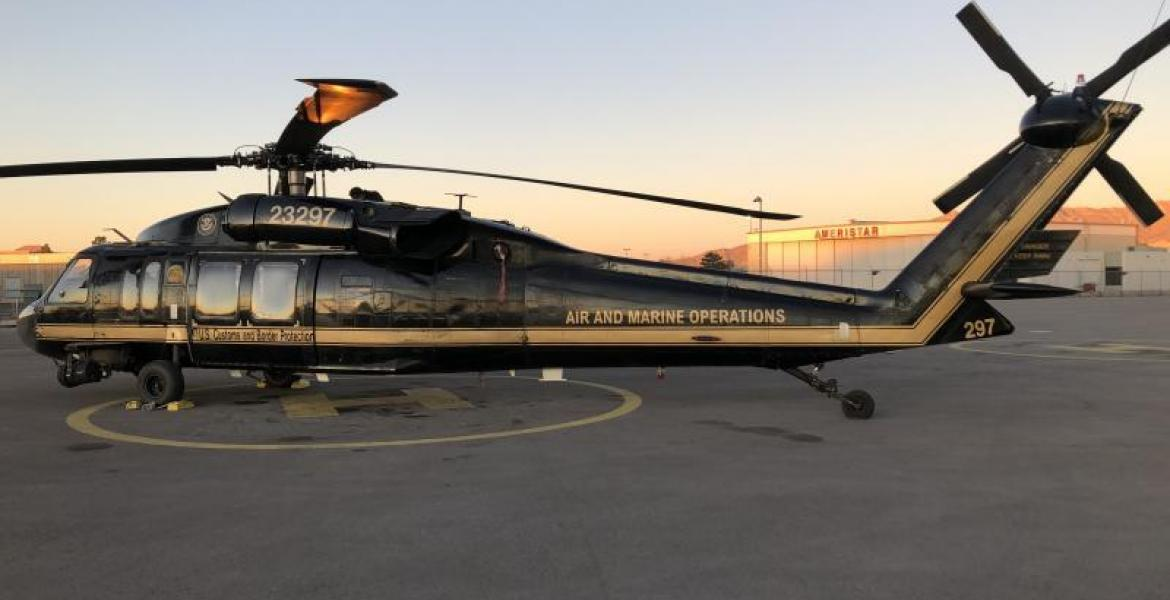 CBP UH60 Black Hawk Helicopter (Contributed/CBP)